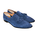 Kiltie Tassel Loafer // Blue (US: 9.5)