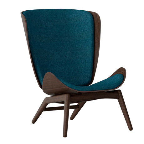The Reader Armchair // Dark Oak (Petrol Blue)