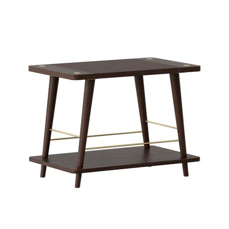 Convenience Stackable Bench + Shelf (Light Oak)