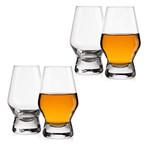 Halo Crystal Whiskey Glasses // 7.8 oz. // Set of 4