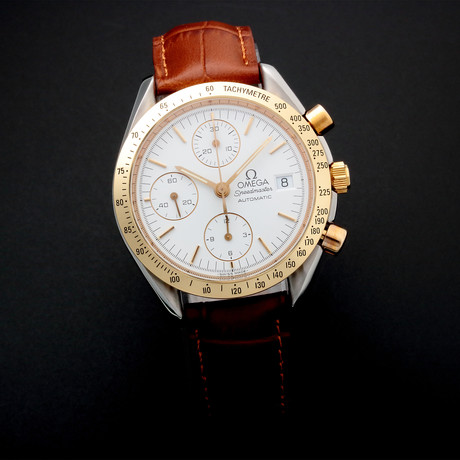 Omega Speedmaster Date Chronograph Automatic // 35205 // Pre-Owned