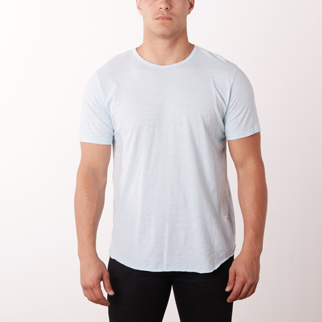 4 Corners Basic Crew Basic Tee // Ice Blue (S)