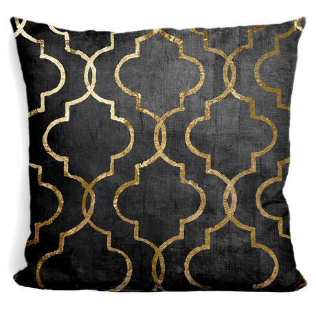 "Paris Apartment III Throw Pillow (16"" x 16"")"