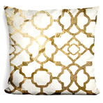 "Moroccan Gold II Throw Pillow (16"" x 16"")"