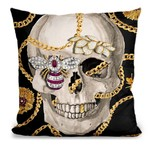 "Gold Digger Throw Pillow (16"" x 16"")"