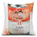 """Hermes Cushion Throw Pillow (16"""" x 16"""")"""