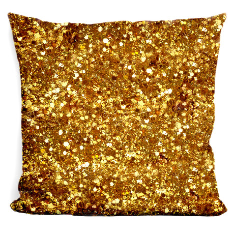 "Floor Mat Sparkles Throw Pillow (16"" x 16"")"
