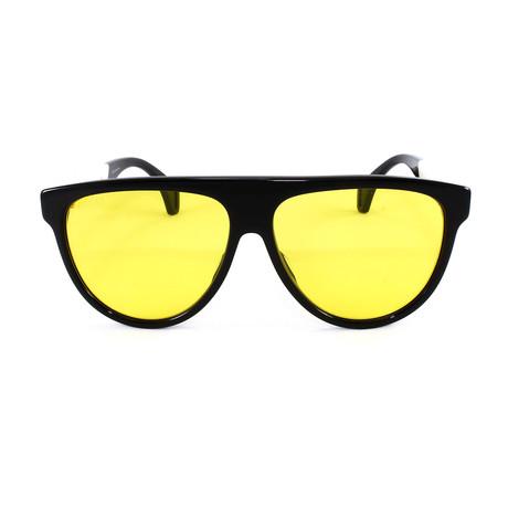 Men's Sunglasses GG0462S Sunglasses V1 // Black + White