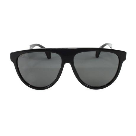 Men's Sunglasses GG0462S Sunglasses V2 // Black + White