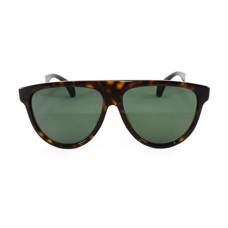 Men's Sunglasses GG0462S Sunglasses // Havana + White