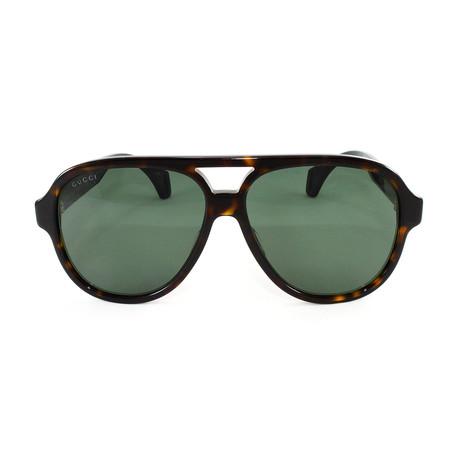 Men's Sunglasses GG0463S Sunglasses // Havana + Black