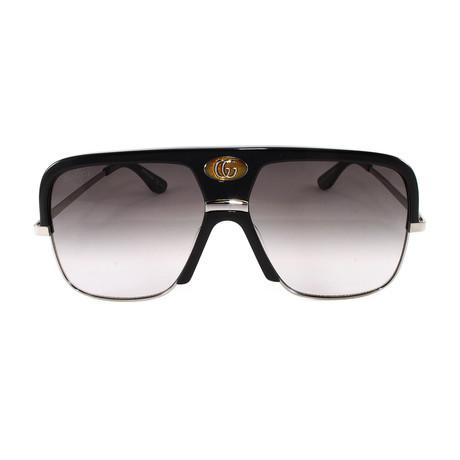 Men's Sunglasses GG0478S Sunglasses // Black + Ruthenium