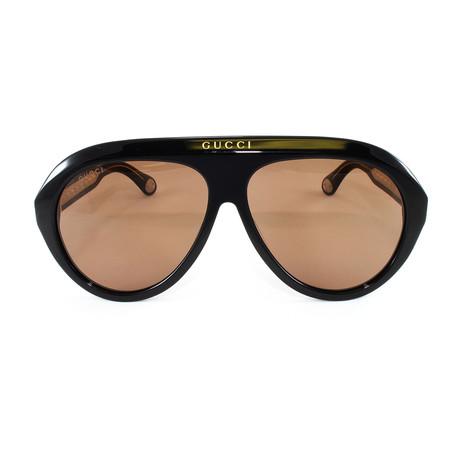Men's Sunglasses GG0479S Sunglasses // Brown + Brown