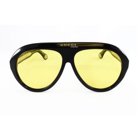 Men's Sunglasses GG0479S Sunglasses // Black + Black