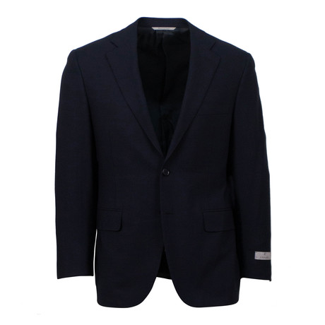 Wool 2 Button Sport Coat // Blue (US: 46S)
