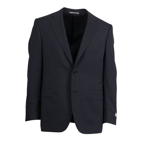 Wool 2 Button Suit // Dark Gray (US: 46S)