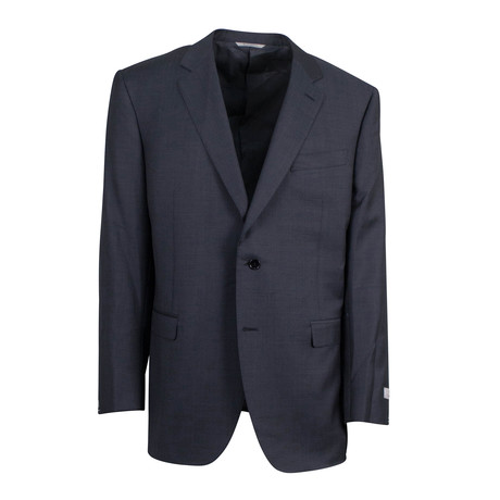 Nailhead Wool 2 Button Suit // Gray (US: 46S)