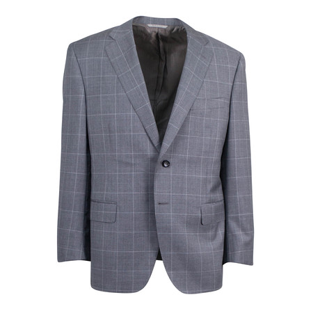 Super 150's Wool 2 Button Suit // Gray (US: 46S)