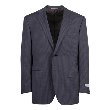 Wool 2 Button Suit // Brown (US: 46S)
