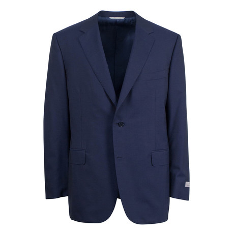 Wool 2 Button Suit // Blue (US: 46S)