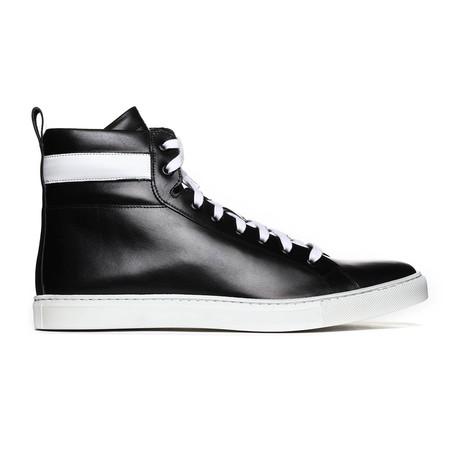 Solar High-Top Sneaker // Black + White (Euro: 38)