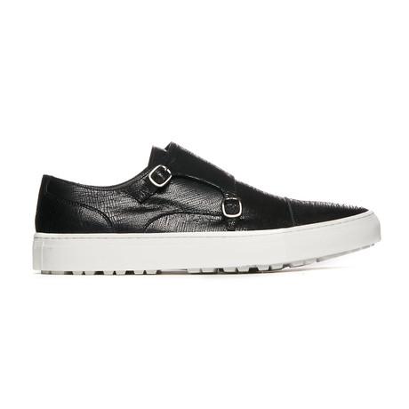 Olga Sneaker // Black Python (Euro: 38)