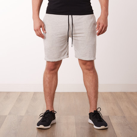 Well Traveled Short Shorts // Grey (S)