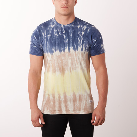 Coral Reef Fashion Tee // Mixed Tie Dye (S)