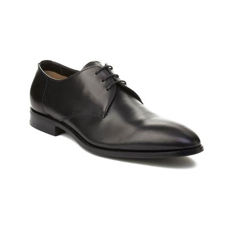 Prada // Men's Leather Oxford Dress Shoes // Black (US: 6)