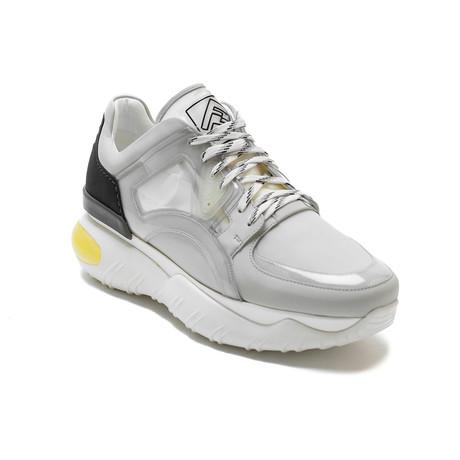 Fendi // Leather Sneakers // White (US: 7)