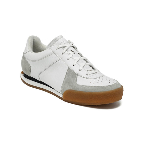 Givenchy // Men's Leather Set3 Tennis Sneaker Shoes // White (US: 6)