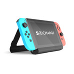 S-Charge Nintendo Switch Battery Case + Kickstand Bundle Edition