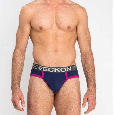 Briefs // Navy + Purple (S)
