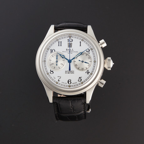 Ball Chronograph Automatic // CM1052D-L1J-WH-SD // Store Display