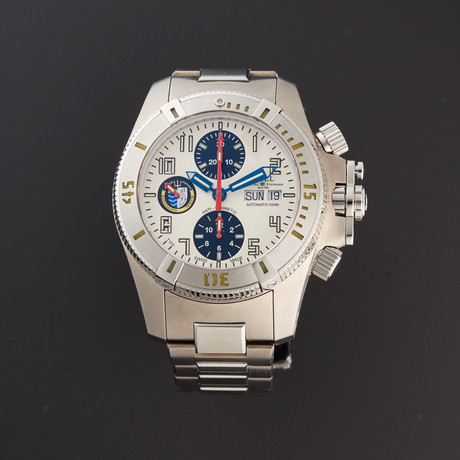 Ball Chronograph Automatic // DC1026A-SJ-WH-SD // Store Display
