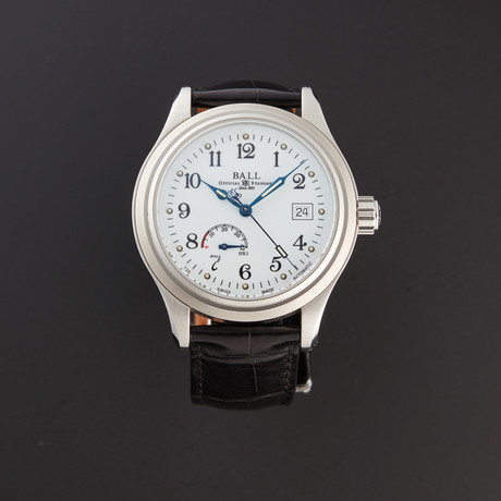 Ball Automatic // NM1056D-L1FJ-WH-SD // Store Display