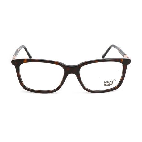Men's MB0489 Frames // Dark Havana