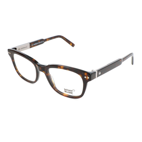 Men's MB0628 Optical Frames // Dark Havana