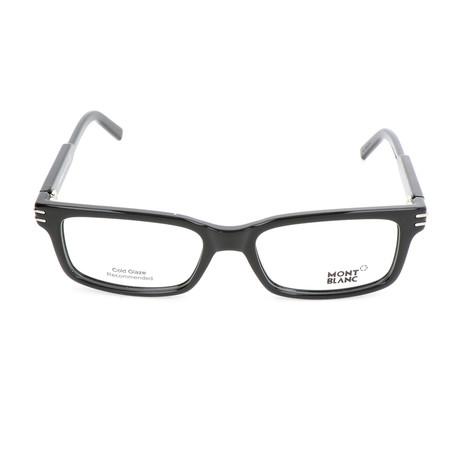 Men's MB0668 Frames // Shiny Black