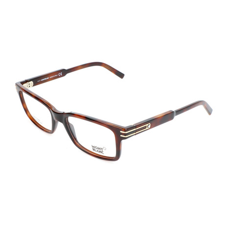 Men's MB0668 Optical Frames // Dark Havana