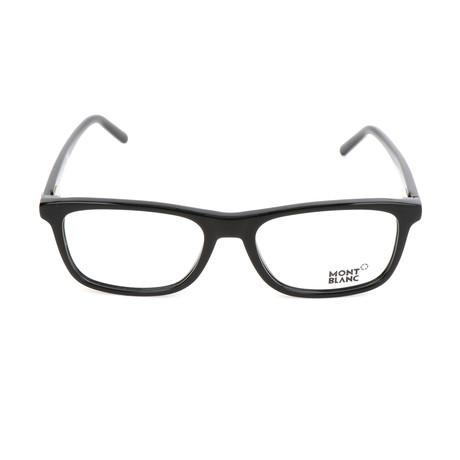 Men's MB0672 Frames // Shiny Black
