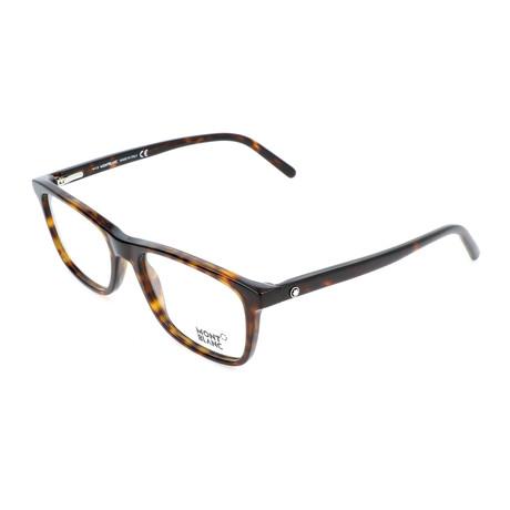 Men's MB0672 Optical Frames // Havana