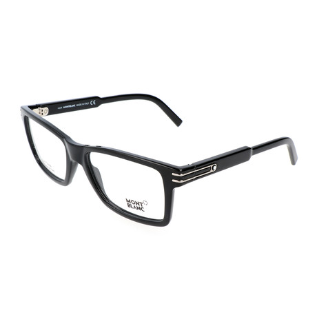 Men's MB0676 Optical Frames // Shiny Black