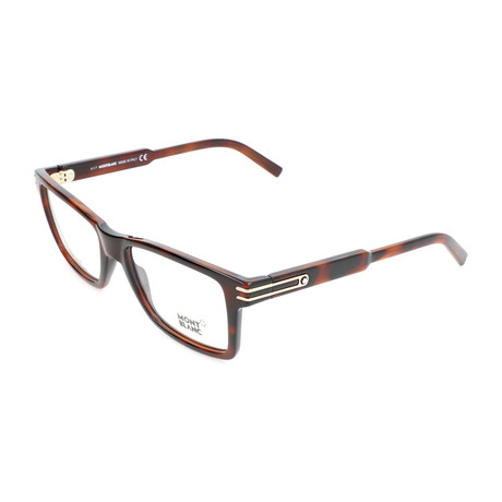 Men's MB0676 Optical Frames // Dark Havana