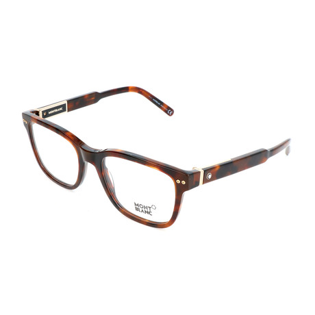 Men's MB0705 Optical Frames // Dark Havana