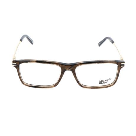 Men's MB0723 Frames // Dark Brown