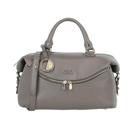 Satchel Handbag // Taupe