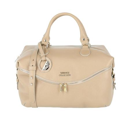 Satchel Handbag // Beige