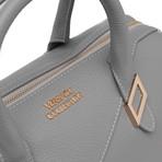 Boxed Shoulder Handbag // Gray