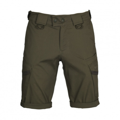 Cargo Shorts // Dark Olive + Gray (XS)